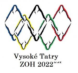 Návrh loga ZOH 2022